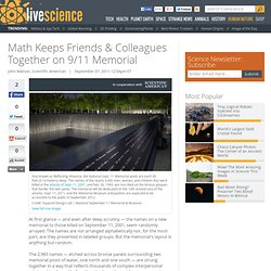 Math Keeps Friends & Colleagues Together on 9/11 Memorial