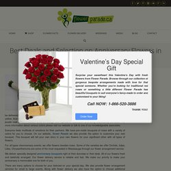Best Deals and Selection on Anniversary Flowers in Mississauga