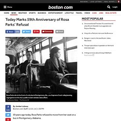Today Marks 59th Anniversary of Rosa Parks' Refusal - Nation
