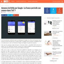Annonce de Brillopar Google : La France perd-elle son avancedans l'IoT ?