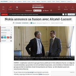 Nokia annonce sa fusion avec Alcatel-Lucent