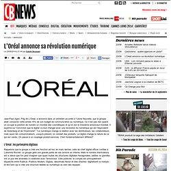 L'Oréal annonce sa révolution numérique