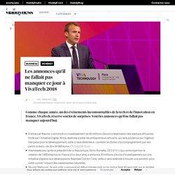 Les annonces qu'il ne fallait pas manquer ce jour à VivaTech 2018 - Maddyness - Le Magazine des Startups Françaises