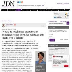 """Eleonore Morlas (Ebay):""""Notre ad-exchange propose aux annonceurs des données relatives aux intentions d'achats"""""""