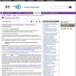 L'Annonciation de F.Del Cossa : humanisme et christianisme