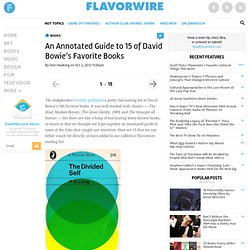 An Annotated Guide to 15 of David Bowie's Favorite Books