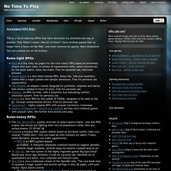 Annotated RPG links « No Time To Play