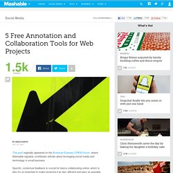 5 Free Annotation and Collaboration Tools for Web Projects