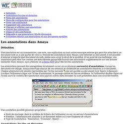Amaya W3C (lien ne fonctionne pas!)