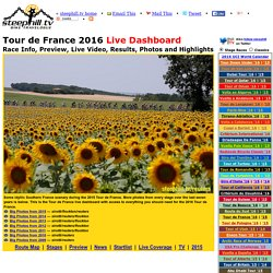 2011 Tour de France Live Video, Route, Preview, Startlist, Results, Photos, TV