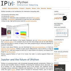 Cookbook/IPythonEmacs23 - IPython