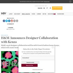 H&M Announces Designer Collaboration with Kenzo