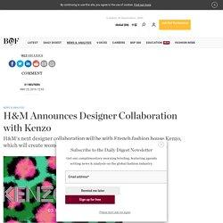 H&M Announces Designer Collaboration with Kenzo