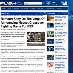 Rumour: Sony On The Verge Of Announcing Mascot Crossover Fighting Game For PS3
