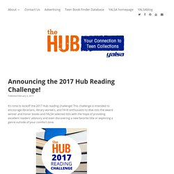 Announcing the 2017 Hub Reading Challenge!