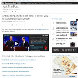 Announcing Truth Teller beta, a better way to watch political speech