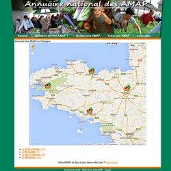 Annuaire des AMAP en Bretagne