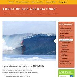 Annuaire des associations en Polynésie française
