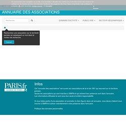 Annuaire des associations
