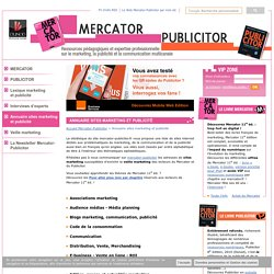 Annuaire sites marketing et publicité
