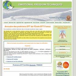 Annuaire des praticiens EFT de l'Ecole EFT France