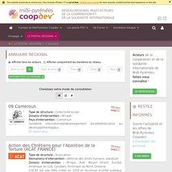 Annuaire régional - Midi-Pyrénées Coopdev'