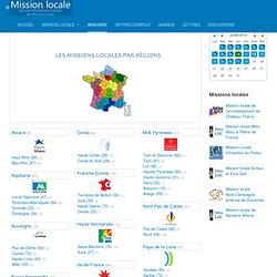 Missions locales - Annuaire (ressources pour l'emploi et l'insertion des jeunes)
