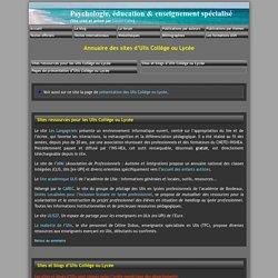 Sites d'Ulis (ex-UPI)