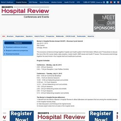 6th Annual Becker's Hospital Review