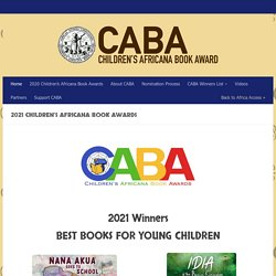 27th Annual Children's Africana Book Awards – Africa Access