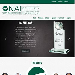 Third Annual NAI Conference in Alexandria, VA