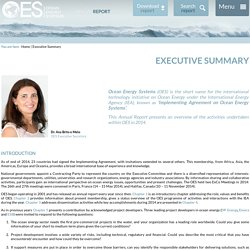 OES Annual Report 2014