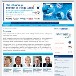 The 4th Annual Internet of Things Europe