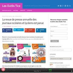 La revue de presse annuelle des journaux scolaires et lycéens est parue – Les Outils Tice