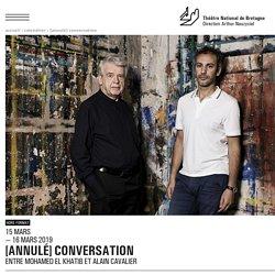 CONVERSATION ENTRE MOHAMED EL KHATIB ET ALAIN CAVALIER - 2018-2019