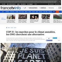 COP 21 : les marches pour le climat annulées, les ONG cherchent une alternative