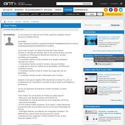 Anon Firefox, entraide, FAQ, conseils, avis, Cryptologie, Sécurité