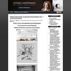 Letras Anónimas… por Lucrecia Piedrahíta » 2010 » julio » 31