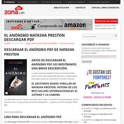 El Anónimo Natasha Preston Descargar PDF