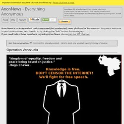 Everything Anonymous