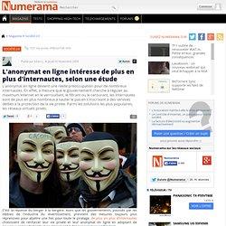 L'anonymat en ligne intéresse de plus en plus d'intern