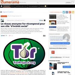 """Le réseau anonyme Tor récompensé pour son rôle """"d'intérêt social""""-Mozilla Firefox"""