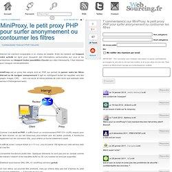 MiniProxy, le petit proxy PHP pour surfer anonymement ou contourner les filtres
