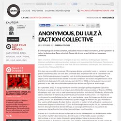 Anonymous, du lulz à l'action collective