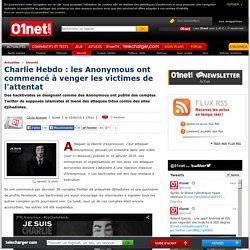 Charlie Hebdo : les Anonymous ont commencé à venger les victimes de l'attentat