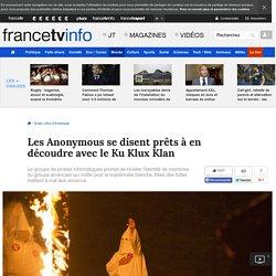Les Anonymous se disent prêts à en découdre avec le Ku Klux Klan