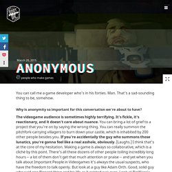 anonymous - don't die