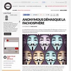 Anonymous démasque la fachosphère