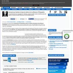 Anonymous hackea la base de datos de los Mossos D'Esquadra