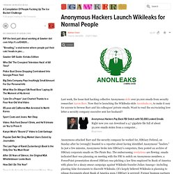 Gawker - Anonleaks